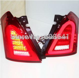USテールライト[右ハンドル・日本仕様]SUZUKIスウィフト用LEDテールランプ2006-2010用Super LUX V4 For SUZUKI Swift LED Tail Lamp 2006-2010 Super LUX V4 Type