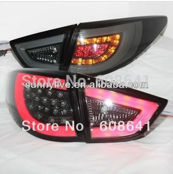 USテールライト[右ハンドル・日本仕様]HYUNDAIツーソンIX35用LEDテールライト09-13 V4ブラックSNタイプF For HYUNDAI Tucson IX35 LED Tail Light 09-13 V4 Black SN Type