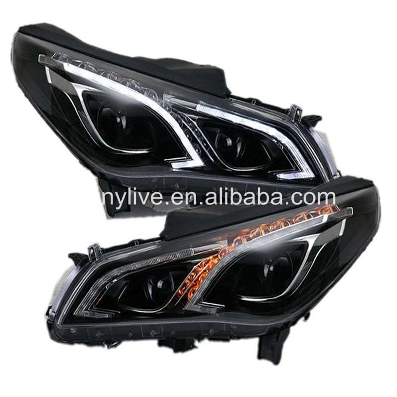 USヘッドライト[右ハンドル・日本仕様]Hyundai Sonata 2015-2016用LEDヘッドライトプロジェクターレン LED headlight Projector lens LED head lamp for Hyundai Sonata 2015-2016
