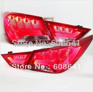 USテールライト[右ハンドル・日本仕様]HYUNDAI SONATA 8用BMW YZタイプ用テールランプ2011For HY For HYUNDAI SONATA 8 LED Tail lamp 2011 for BMW YZ Type
