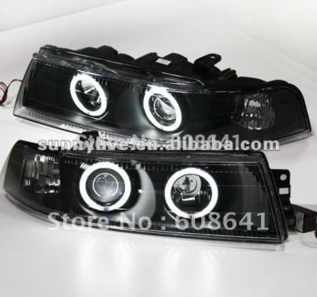 For Mitsubishi Lancer Angel Eyes Head Lamp 2005 to 2008 year