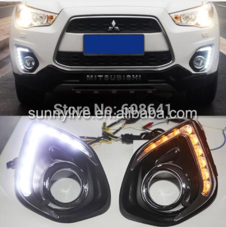 2013-2014 Year Sport ASX LED DRL Daytime Running Light Double Color
