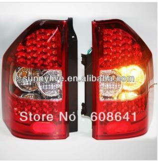 For MITSUBISHI Montero Pajero V73 LED Tail Lamps 2000-08 year Red White Color