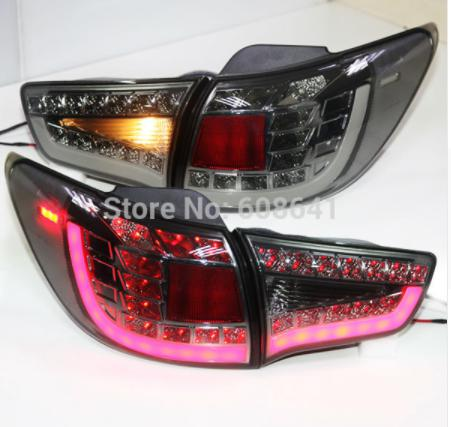 USテールライト[右ハンドル・日本仕様]KIA Sportage R LEDテールランプ2011年煙For KIA Sport For KIA Sportage R LED Tail Lamp 2011 year smoke