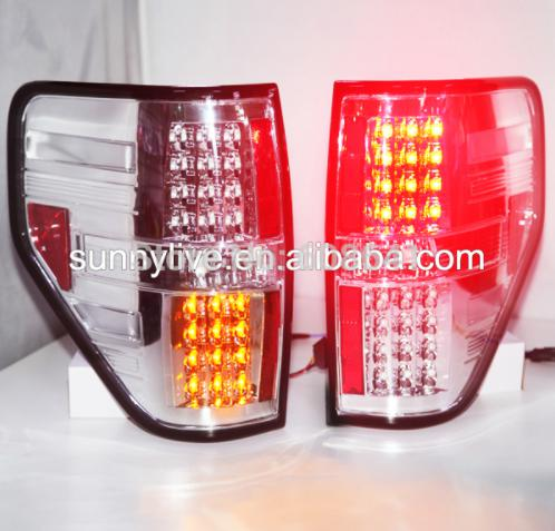 USテールライト[右ハンドル・日本仕様]F-150 Raptor LED Tail Lamp Chrome Housing C F-150 Raptor LED Tail Lamp Chrome Housing Clear Lens