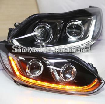USヘッドライト[右ハンドル・日本仕様]LEDストリップヘッドライトフォーカス3 2012-2014モデルLD V2LED s LED strip headlight for Focus 3 2012-2014 model LD V2
