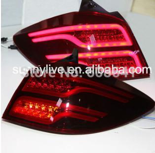 USテールライト[右ハンドル・日本仕様]2009年?2014年ハッチバッククルーズLEDテールライト後部ライトベンツスタイルの 2009-2014 year Hatchback Cruze LED Taillights Rear Light for Ben-Z Style Dark Red