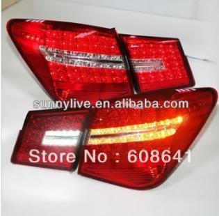 USテールライト[右ハンドル・日本仕様]2009-12 Mercedes Benz BW069タイプのすべてのLEDテールライ 2009-12 Cruze All LED Tail light Rear Lamps for Mercedes Benz BW069 Type