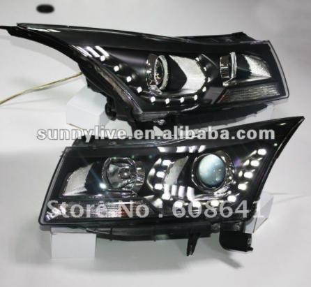 USヘッドライト[右ハンドル・日本仕様]CHEVROLET Cruze LEDヘッドランプ2009?2011 V4タイプ用Fo For CHEVROLET Cruze LED Head Lamp 2009 to 2011 V4 Type