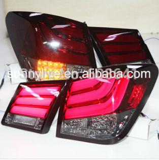 USテールライト[右ハンドル・日本仕様]09-12クルーズLEDリアライトBMWスタイルLEDテールランプレッドブラックカラー 09-12 Cruze LED Rear Light for BMW Style LED Tail Lamp Red Black Color TJ Type