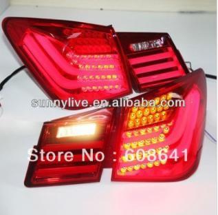 USテールライト[右ハンドル・日本仕様]BMWスタイルLEDテールランプ用スーパーラックスクルーズLEDリアライト2009-2 Super Lux Cruze LED Rear Light for BMW Style LED Tail Lamp 2009-2012 year Red Color V7 Type