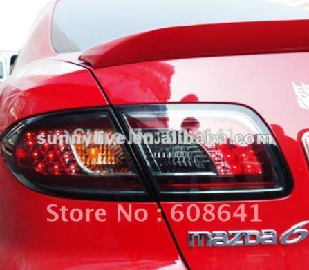USテールライト[右ハンドル・日本仕様]MAZDA 6 LEDバックライトV2タイプFor MAZIDA 6 LED Back For MAZIDA 6 LED Back Light V2 Type 1 Year Warranty