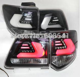 USテールライト[右ハンドル・日本仕様]TOYOTA SW4 Fortuner Smoke Housingクリアレンズ用201 2011 -13 year LED Taillights Rear Lamps for TOYOTA SW4 Fortuner smoke Housing Clear lens