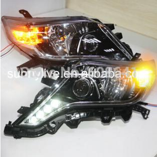 USヘッドライト[右ハンドル・日本仕様]トヨタプラド2014ヘッドライトLD V1用For Toyota Prado 2014 For Toyota Prado 2014 led Headlight LD V1