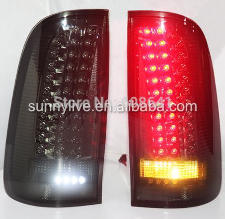 USテールライト[右ハンドル・日本仕様]TOYOTA HILUX VIGO LEDリアライト2004-2013年スモークYZF For TOYOTA HILUX VIGO LED rear light 2004-2013 year Smoke YZ