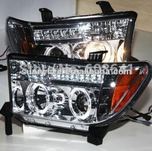 USヘッドライト[右ハンドル・日本仕様]TOYOTA Tundra LEDヘッドランプ2007年から2013年SONAR St For TOYOTA Tundra LED Head Lamp 2007-2013 year SONAR StyleChrome Housing
