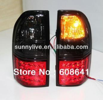 USテールライト[右ハンドル・日本仕様]トヨタプラドFJ90用LC90 LEDテールランプ1998-2003年赤+黒For T For TOYOTA Prado FJ90 LC90 LED Tail Lamp 1998-2003 Year Red+ Black