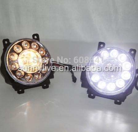 USヘッドライト[右ハンドル・日本仕様]2008年?2012年ランドクルーザーLC200 FJ200 LEDフォグランプ+ D 2008-2012 Year Land Cruiser LC200 FJ200 LED Fog lamp + DRL