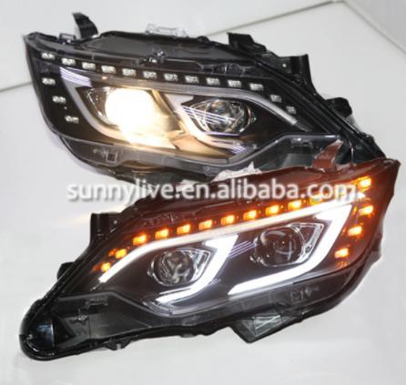 USヘッドライト[右ハンドル・日本仕様]トヨタカムリV55カムリ2015のLEDヘッドライトLED headlights fo LED headlights for Toyota Camry V55 Camry 2015