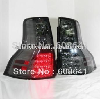 USテールライト[右ハンドル・日本仕様]FJクルーザーFJ150 Prado 2700 LEDテールライトスモークブラックカラ FJ Cruiser FJ150 Prado 2700 LED Tail Lights Smoke Black Color 2009 -12 SN V3 Style