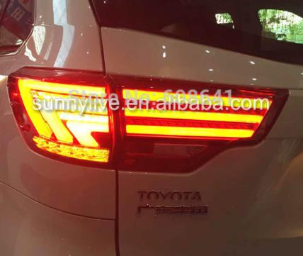 USテールライト[右ハンドル・日本仕様]レッドカラーledリアライトfor TOYOTA Kluger Highlander Red Color led Rear light For TOYOTA Kluger Highlander 2014-2015 WH