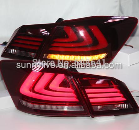 USテールライト[右ハンドル・日本仕様]アコードLEDテールランプ2014 YZ赤と白のFor Accord LED Tail For Accord LED Tail Lamp 2014 YZ red and white