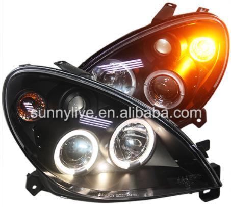 USヘッドライト[右ハンドル・日本仕様]シトロエンXSARAのヘッドライト2000-2003 SNブラックハウジング用For For Citroen XSARA led headlight 2000-2003 SN Black Housing