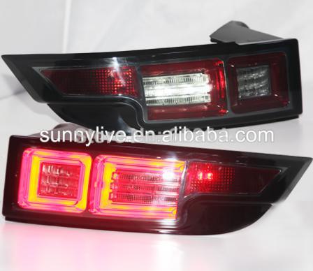 USテールライト[右ハンドル・日本仕様]Rober Range Rover Evoque 2010-2013用スモークカバーL Smoke Cover LED Strip Rear Light For Land Rover Range Rover Evoque 2010-2013