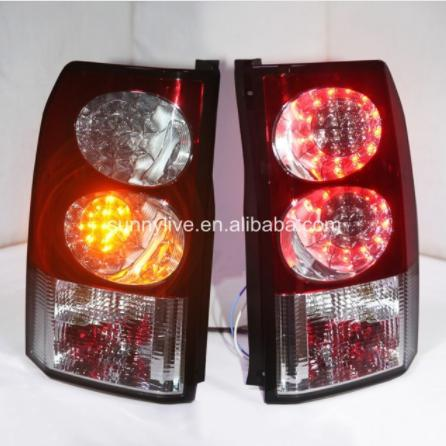 USテールライト[右ハンドル・日本仕様]ランドローバー discovery のためのLEDストリップリアライトSN 2004- For Land Rover discovery LED Strip Rear Light SN 2004-2013 Red white
