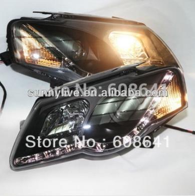 USヘッドライト[右ハンドル・日本仕様]VW Magotan Passat B6 LEDヘッドランプエンジェルアイズ2004年 For VW Magotan Passat B6 LED Head Lamp Angel Eyes 2004- 10 year SONAR Style