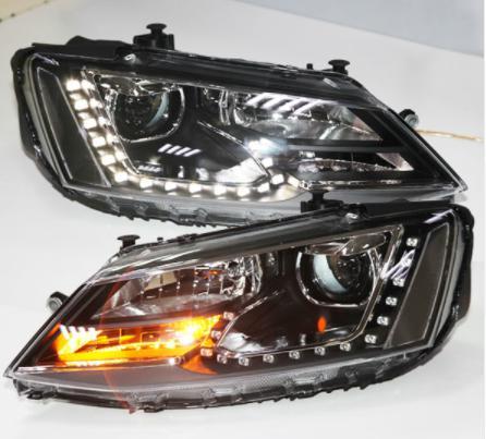 USヘッドライト[右ハンドル・日本仕様]VW新型Jetta Sagitar LEDヘッドライト(DRL 2012年)For V For VW New Jetta Sagitar LED Headlight wIth DRL 2012 year