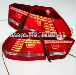 USテールライト[右ハンドル・日本仕様]VWパサート用b7アメリカンバージョンLEDテールランプリアライト2011年?2014 For VW Passat b7 American Version LED Tail Lamp Rearlights 2011- 2014 year Red Color