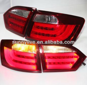USテールライト[右ハンドル・日本仕様]VWのために新しいJettaはテールランプを導いた2012 BMWスタイルのようにFo For VW New Jetta led tail lamp 2012 Like for BMW Style
