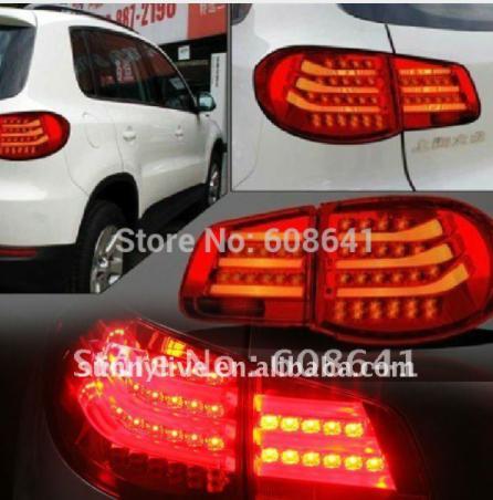 USテールライト[右ハンドル・日本仕様]VW Tiguan LEDテールランプ2009?2011For VW Tiguan L For VW Tiguan LED Tail Lamp 2009 to 2011