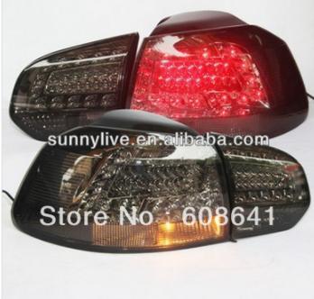 USテールライト[右ハンドル・日本仕様]ゴルフ6 LEDテールランプスモークブラックカラー2010-2013年LFGolf 6 Golf 6 LED Tail Lamp for VOLKSWAGEN Smoke Black Color 2010-2013 Year LF