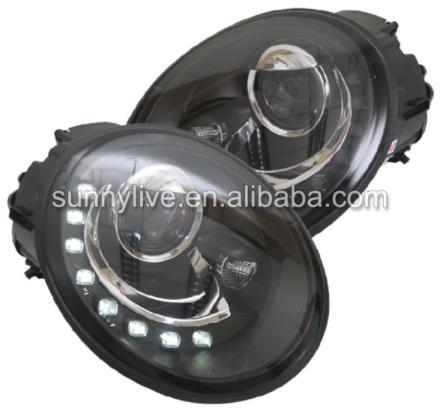 USヘッドライト[右ハンドル・日本仕様]VWビートル用フロントライトヘッドライト1998-2005 SNFor VW Beet For VW Beetle led front light headlight 1998-2005 SN