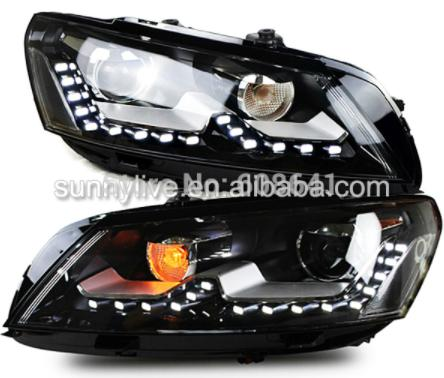 USヘッドライト[右ハンドル・日本仕様]2011-2014 VW Passat B7用LEDヘッドランプ北米版SY2011-2 2011-2014 LED Head Lamp For VW Passat B7 North American version SY