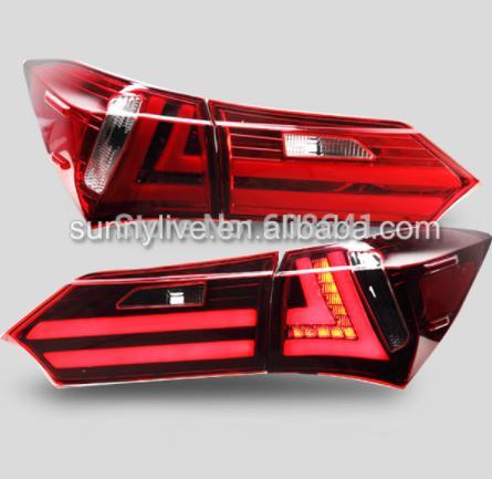USテールライト[右ハンドル・日本仕様]TOYOTA Corolla Altis用LEDテールライト2014 YZFor TO For TOYOTA Corolla Altis LED Tail light 2014 YZ