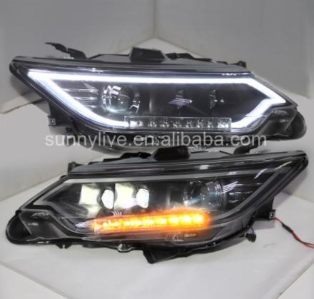 USヘッドライト[右ハンドル・日本仕様]TOYOTA camry用V55 Camry 2014 LEDヘッドランプLFFor For TOYOTA camry V55 Camry 2014 LED Head lamp LF