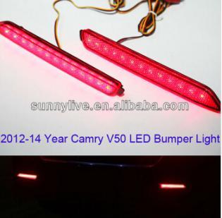 USテールライト[右ハンドル・日本仕様]TOYOTA用2012年-2013年カムリV50 LEDバンパーライト2012 -20 2012 -2013 year Camry V50 LED Bumper Light for TOYOTA