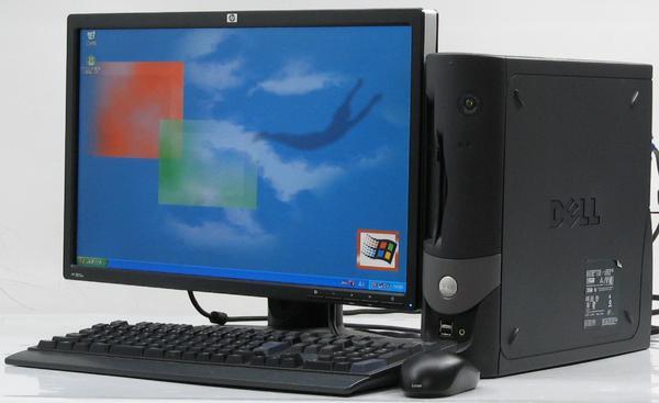 中古デスクトップパソコン DELL Optiplex GX60-C1700SF■22液晶セット(デル) 【中古】【中古パソコン/中古PC】
