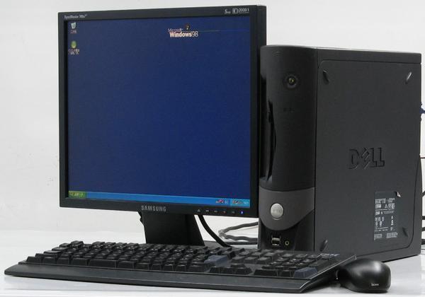 中古デスクトップパソコン DELL Optiplex GX60-C1700SF■17モニターセット (デル) 【中古】 【中古パソコン/中古PC】