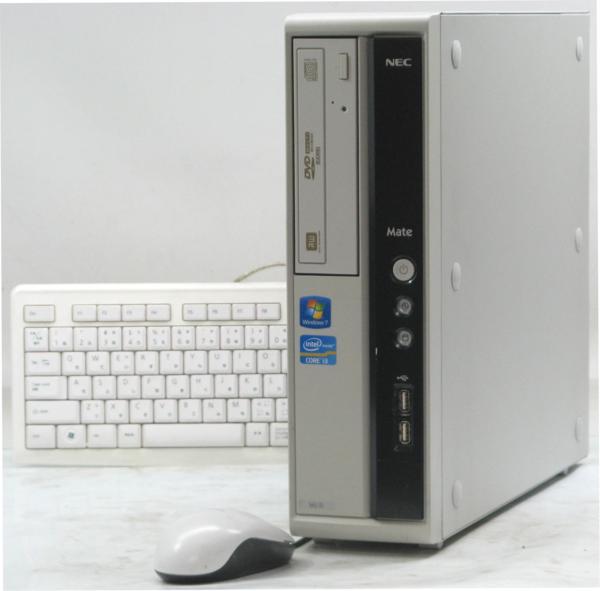 中古デスクトップパソコン NEC PC-MK33LLZTJFSD (NEC Windows7 Corei3 DVDスーパーマルチドライブ グラボ ビデオカード) 【中古】 【中古パソコン/中古PC】