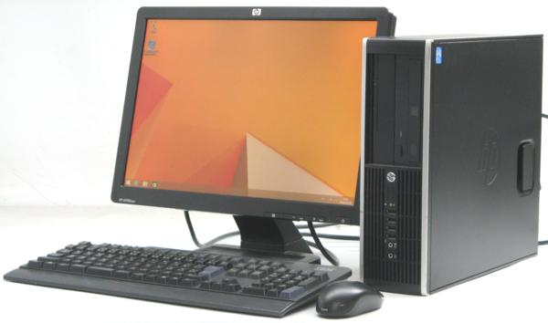 HP Compaq 6300Pro SFF-3300■19W液晶セット (ヒューレット・パッカード Windows8 Corei3) 【中古】 【中古パソコン/中古PC】