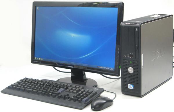 中古デスクトップパソコン DELL Optiplex 780-C2200SF■22液晶セット (デル Windows7) 【中古】 【中古パソコン/中古PC】