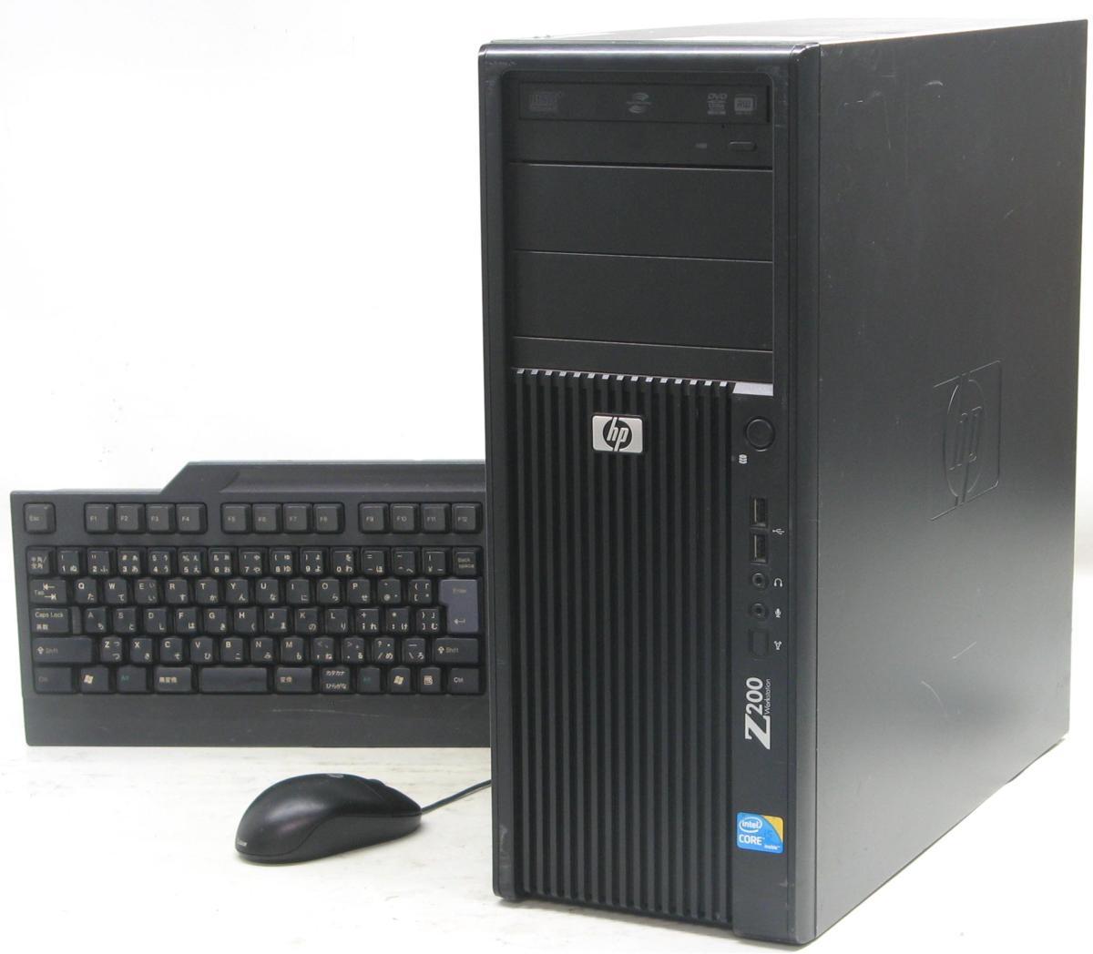 中古パソコン デスクトップ Windows10 HP Z200 Workstation(ヒューレットパッカード Windows10 Corei5 DVDスーパーマルチドライブ)【中古】【中古パソコン/中古PC】