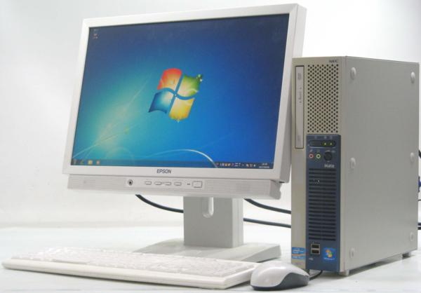 NEC PC-MK27MEZCD■19W液晶セット(NEC Windows7 Corei5)【中古】【中古パソコン/中古PC】