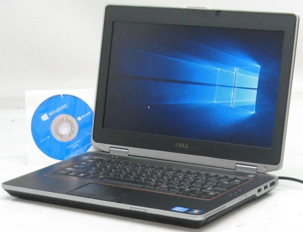 中古ノートパソコン DELL Latitude E6420-2100HD(デル Windows10(MRR)付 Corei3 HDMI出力端子)【中古】【中古パソコン/中古PC】