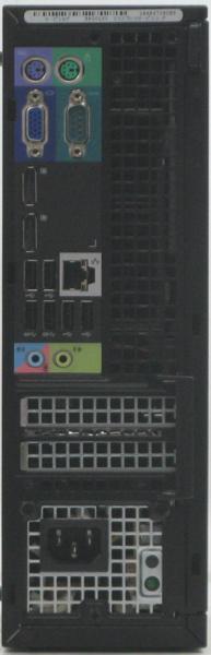 【中古】 中古デスクトップパソコン DELL Optiplex 7010-3400SF■15液晶セット 【中古パソコン/中古PC】 (デル Windows7 Corei7)