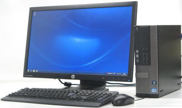 中古パソコンのUSED PC DELL 中古デスクトップパソコン 中古 格安SALEスタート デスクトップ パソコン Optiplex 7010-3400SF チープ Corei7 23型 液晶モニター セット 初期設定済み 23インチ Windows7 デル